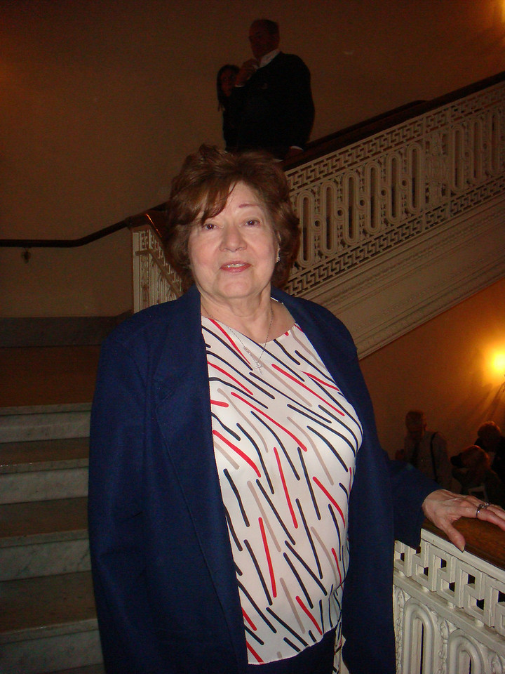 Mom at Boston Pop's concert at Symphony Hall ~ May 15, 2007