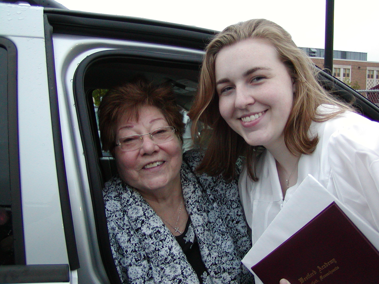 Grandma Jinny with Jin after graduation ~ June 2, 2007