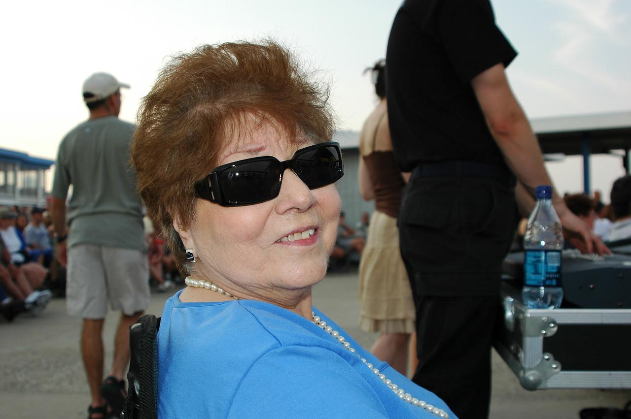 Watching the Hanscom AFB Rock Band, 'Afterburner' at Hampton Beach, NH ~ July 1, 2006