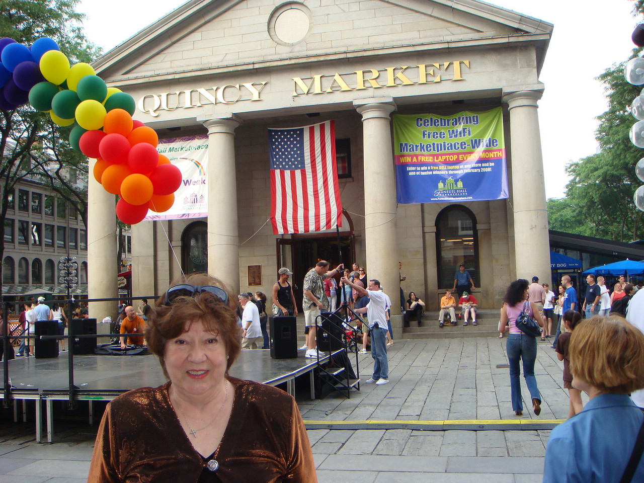 Virginia at Quincy Market ~ Boston, MA ~ June 2, 2007